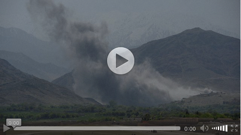 Cockpit video shows MOAB strike in Afghanistan