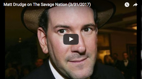 Matt Drudge Warns Trump Surrounded by Traitors, In Crisis