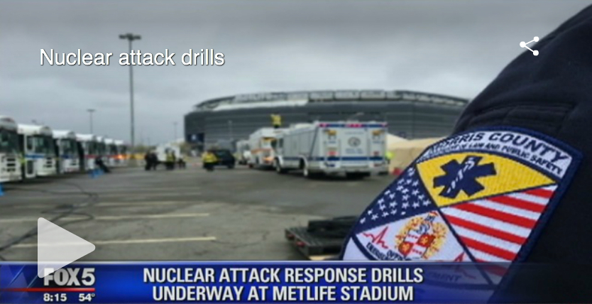Feds prep for nuclear attack in New Jersey