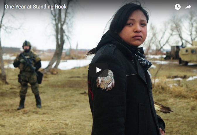 One Year at Standing Rock