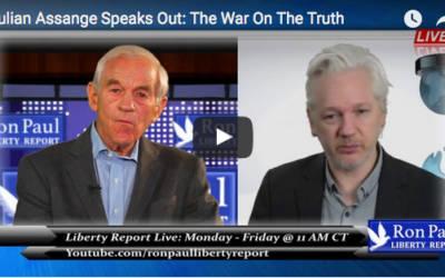 Ron Paul Interviews Julian Assange