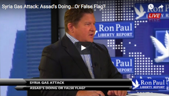Ron Paul: Chemical Weapons Attack in Syria Likely a False Flag
