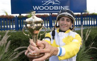 The rider who's taking Woodbine by storm – thanks to an accident that nearly ended his career