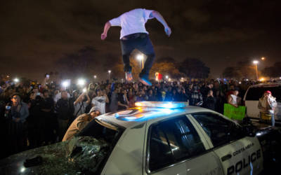 The Shadowy Extremist Group Behind the Anti-Trump Riots