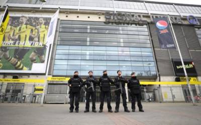 Germany says suspected Islamist detained over soccer attack