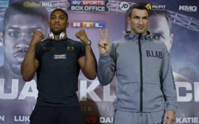Defeat nothing to be scared of, Klitschko tells Joshua