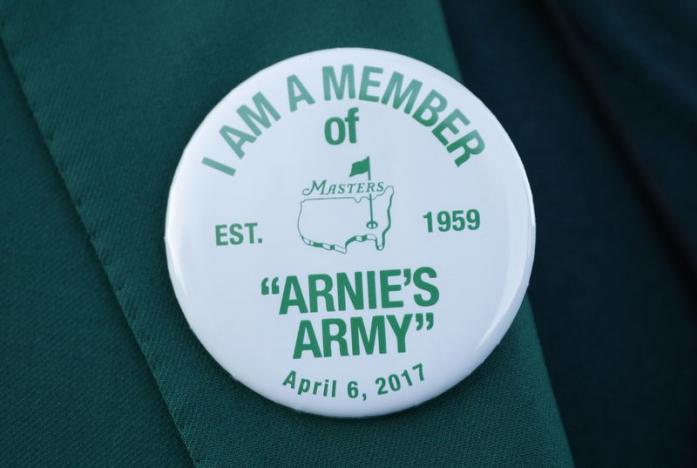 Arnie's Army salutes Arnold Palmer one last time