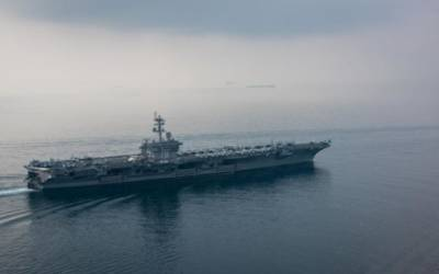 North Korea says ready to strike U.S. aircraft carrier
