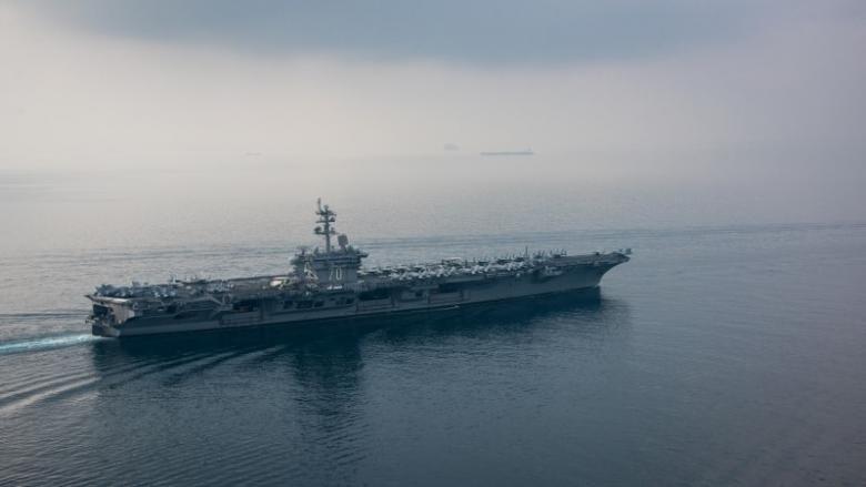 North Korea says ready to strike U.S. aircraft carrier
