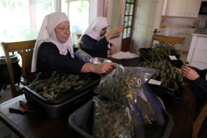 California's 'weed nuns' on a mission to heal with cannabis
