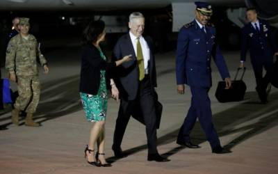U.S. defense secretary says Syria dispersed warplanes, retains chemical weapons