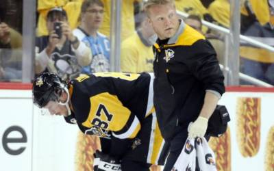 Penguins' Crosby to miss Game Four with concussion