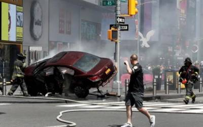 Driver indicted in deadly Times Square attack, crash