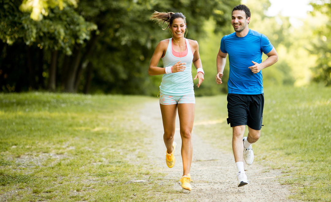 Jogging for just 30 minutes a day can knock years off your biological clock