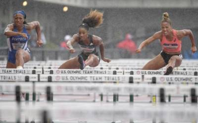 Athletics: U.S. hurdler Harrison set for finger surgery, expects quick return