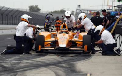 Alonso 'not comfortable' yet at Indy 500