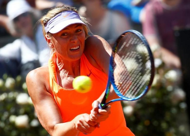 Sharapova targeting return to the top