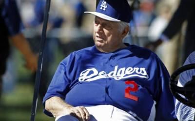 Former L.A. Dodgers manager Tommy Lasorda hospitalized