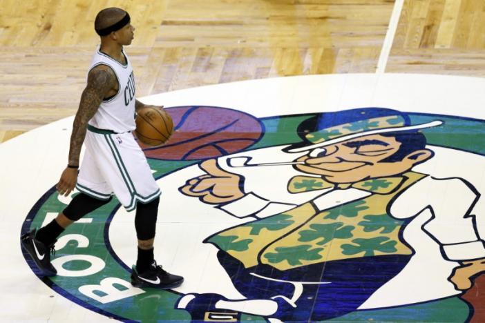 Boston Celtics win NBA draft lottery, Lakers second