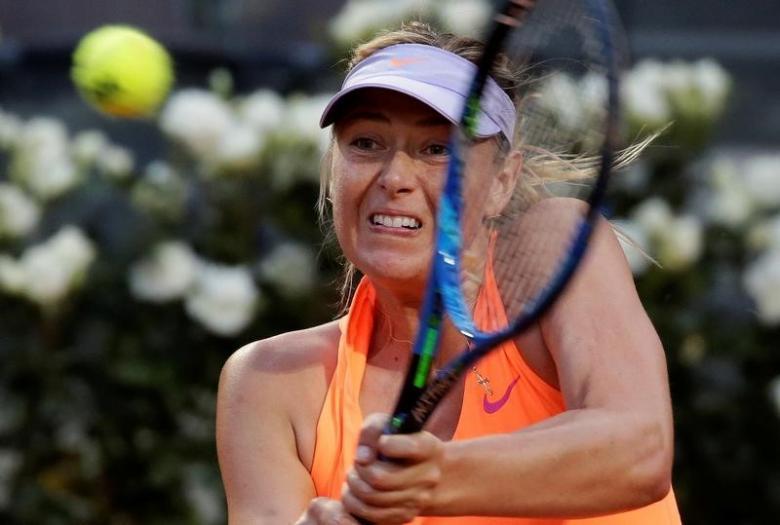 Sharapova's sponsor backs French Open snub, blames WADA