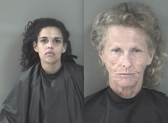 Two women arrested in two separate burglaries