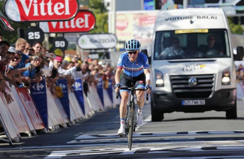 Cycling: Talansky wins stage 5 in California, Majka retains overall lead