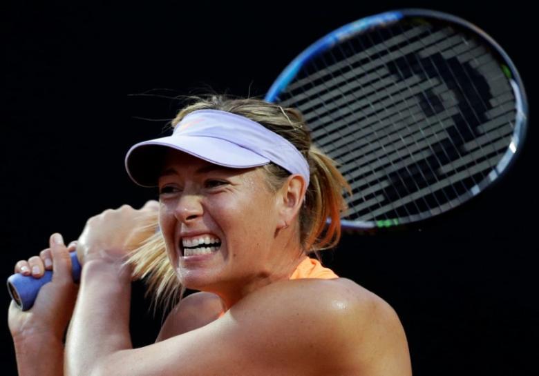 Sharapova faces 10-match marathon to win Wimbledon title