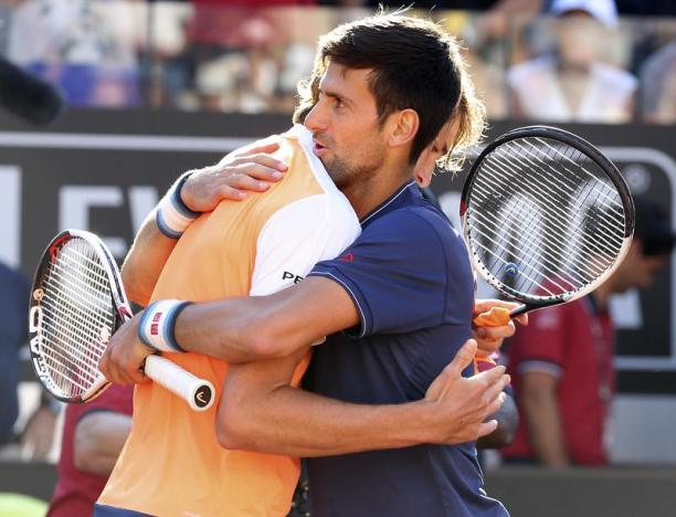 Djokovic names Agassi as coach after Rome defeat by Zverev