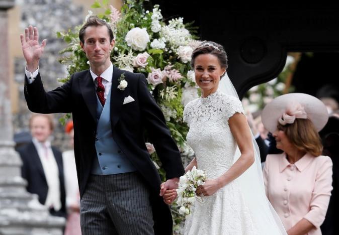 Royal sister-in-law Pippa takes spotlight in star-studded British wedding
