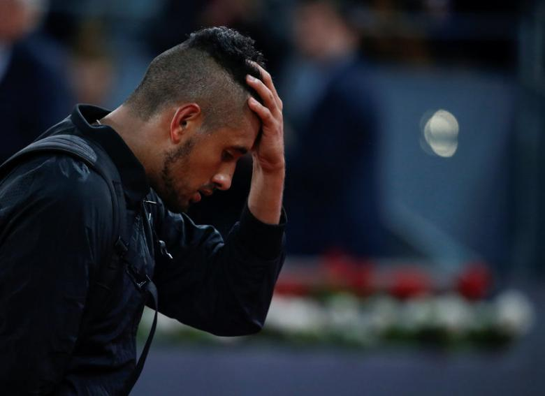 Kyrgios envious of Zverev as French Open plans falter