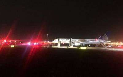 Newark, N.J. airport reopens after United Airlines engine fire