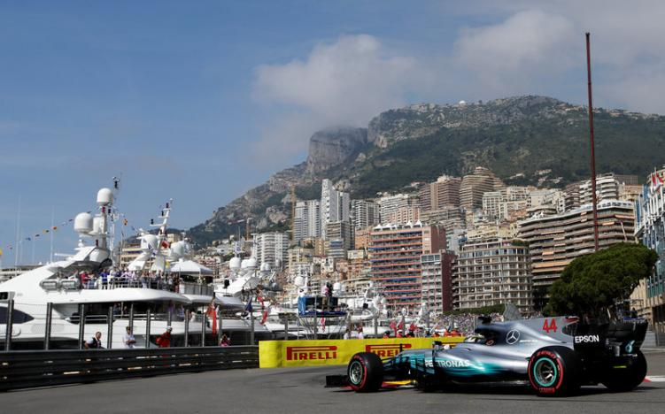 Hamilton faster than ever in first Monaco practice