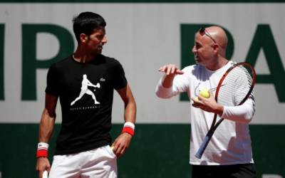 Djokovic can tap into Agassi's brilliant mind, says McEnroe