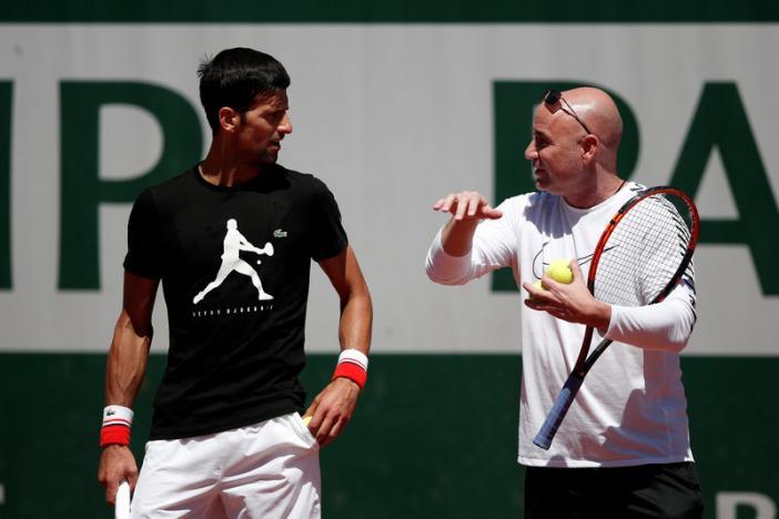 Djokovic can tap into Agassi's brilliant mind, says McEnroe