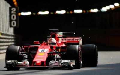 Motor racing: Vettel sets fastest ever lap at Monaco
