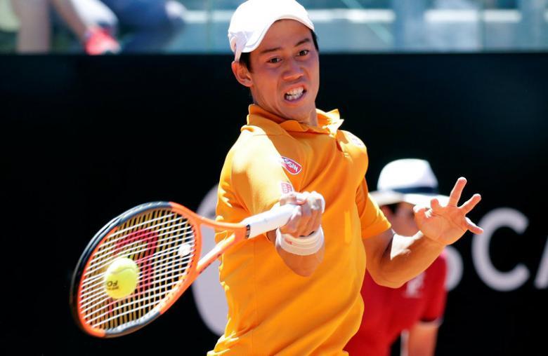 Nishikori fights back to reach Geneva semis