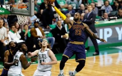 James surpasses Jordan as playoffs scoring leader