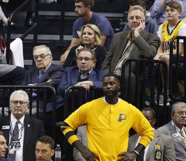NBA: Bird officially steps down as president of Pacers