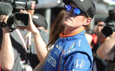 Indy pole winner Dixon robbed at restaurant drive thru