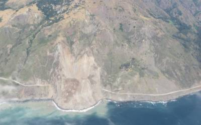 California highway to be closed for months after Big Sur landslide