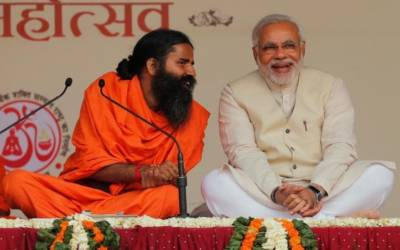 Modi's Yogi: As Modi and his right-wing Hindu base rise, so too does a celebrity yoga tycoon