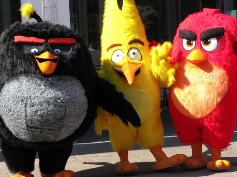 Rovio aims to release Angry Birds movie sequel in 2019