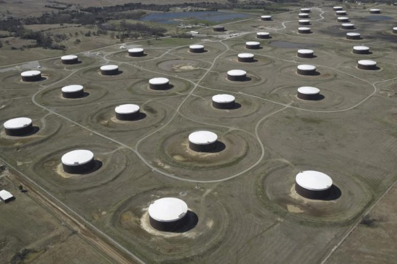 Big drop in U.S. oil stocks finally on the way, traders say