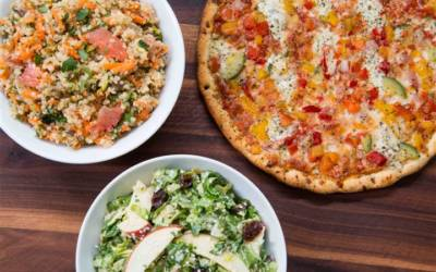 Fresh ways to enjoy pizza night and make a balanced meal