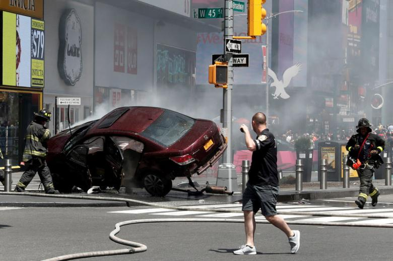 Motorist who ran amok in Times Square says he tried 'to get help'
