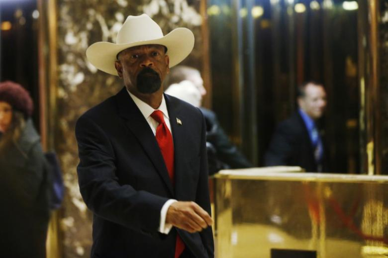 Polarizing Milwaukee sheriff denies CNN report that he plagiarized