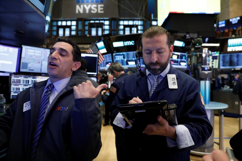Wall Street hits record highs, helped by consumer stocks
