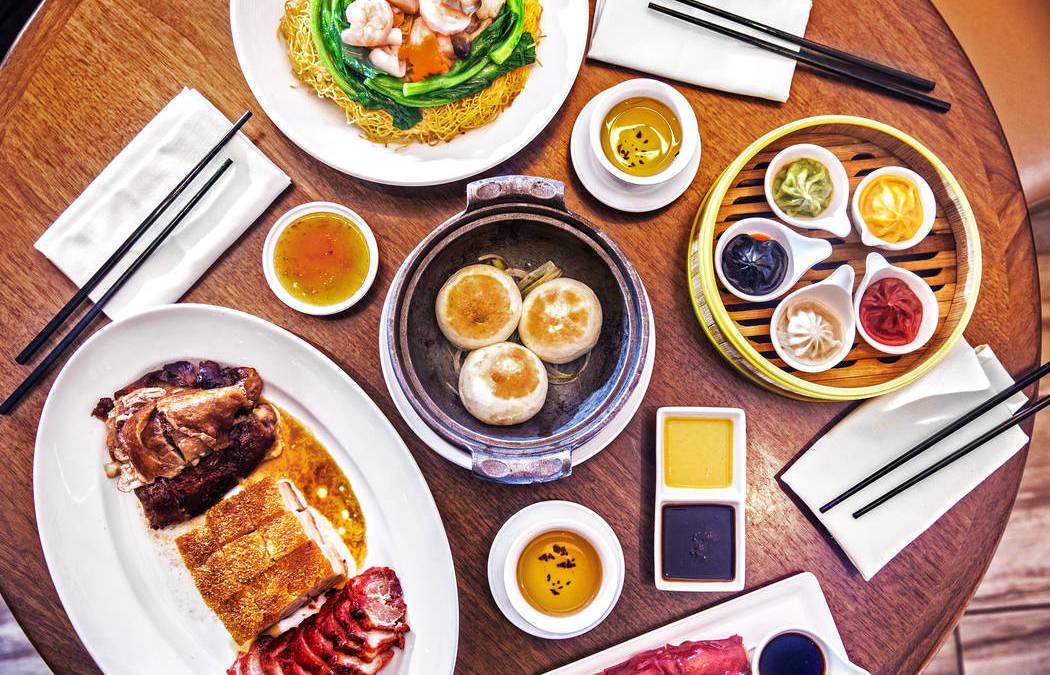 Pearl Ocean at Lucky Dragon dim sum menu is broad, flavorful