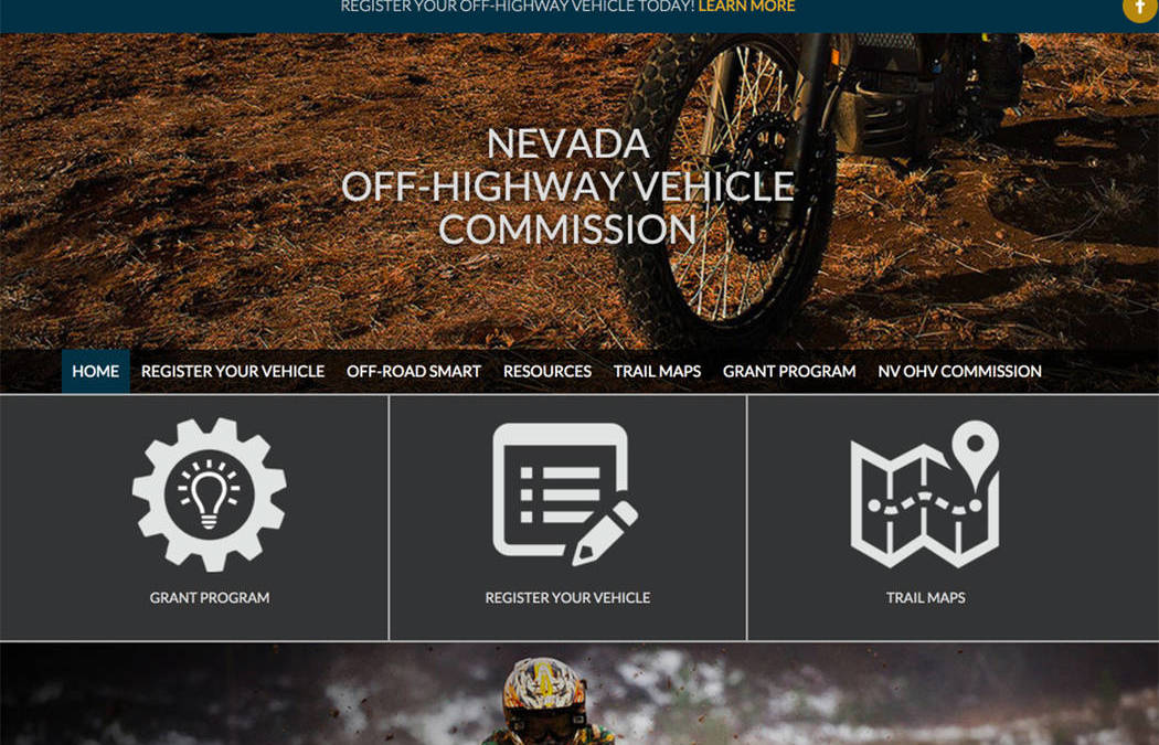 Website devoted to Nevada all-terrain vehicles set to launch