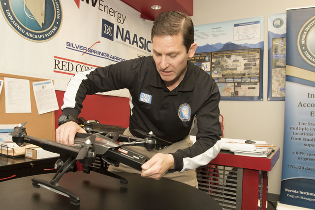 Nevada drone officials help set long-distance record